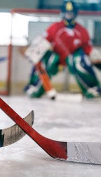 image of minor hockey goalie